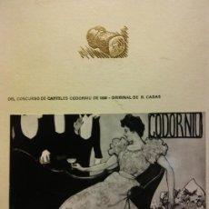 Catálogos publicitarios: PUBLICIDAD CAVAS CODORNIU. SANT SADURNI DE NOYA, ESPAÑA. Lote 189807810