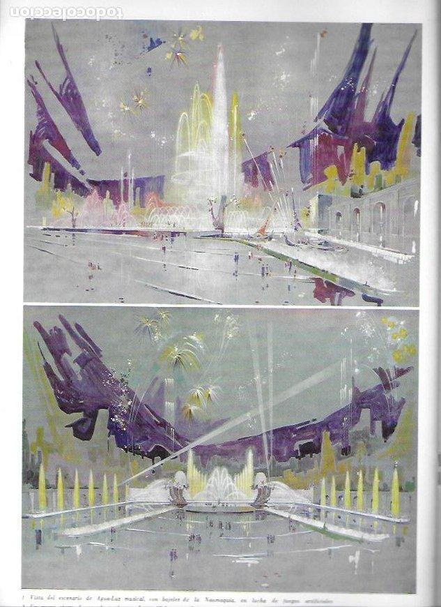 Catálogos publicitarios: Teatro integral con escenario de agua-luz-música proyecto de Carlos Buigas. 32x22cm. 24 p. - Foto 4 - 246071130