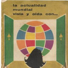 Catálogos publicitários: CATÁLOGO PUBLICIDAD TELEVISORES TELEFUNKEN AÑO 1961-62 CON 7 MODELOS. Lote 190634512