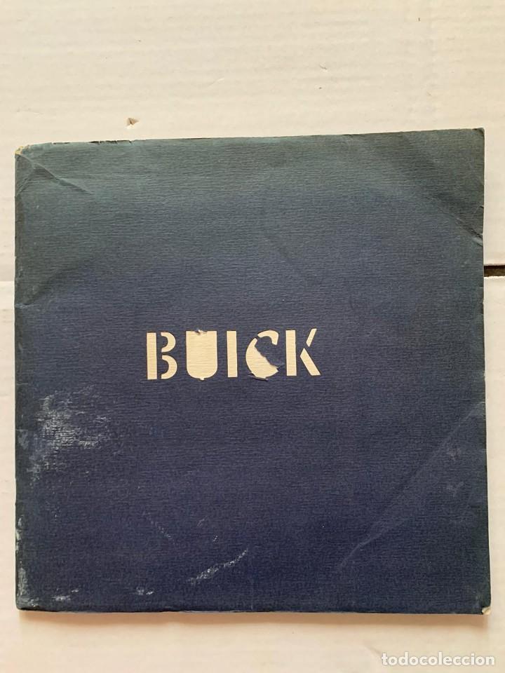 CATALOGO BUICK - EL NUEVO BUICK OCHO (Coleccionismo - Catálogos Publicitarios)