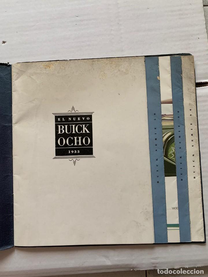 Catálogos publicitarios: CATALOGO BUICK - EL NUEVO BUICK OCHO - Foto 3 - 190873150