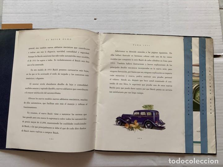 Catálogos publicitarios: CATALOGO BUICK - EL NUEVO BUICK OCHO - Foto 4 - 190873150