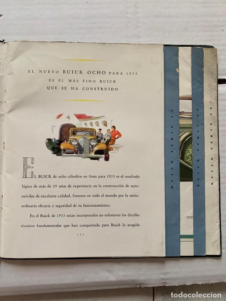 Catálogos publicitarios: CATALOGO BUICK - EL NUEVO BUICK OCHO - Foto 5 - 190873150