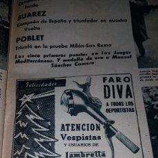 Catálogos publicitarios: PUBLICIDAD FARO DIVA INDUSTRIAS NOHERIN. Lote 191189782