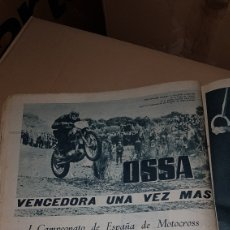 Catálogos publicitarios: PUBLICIDAD OSSA VENCEDORA I CAMPEONATO DE ESPAÑA DE MOTOCROSS. Lote 191190043