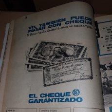Catálogos publicitarios: PUBLICIDAD 1967 BANCO POPULAR ESPAÑOL. Lote 191190930