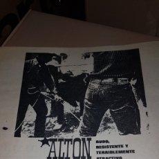 Catálogos publicitarios: PUBLICIDAD PRENSA 1967 ALTON PANTALON VAQUERO. Lote 191192018