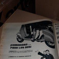 Catálogos publicitarios: PUBLICIDAD PRENSA 1959 LAMBRETTA. Lote 191192853