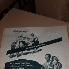 Catálogos publicitarios: PUBLICIDAD PRENSA 1959 DOMINGUIN UTILIZA LA VESPA. Lote 191193445