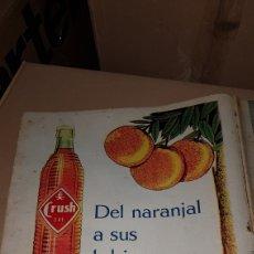 Catálogos publicitarios: PUBLICIDAD PRENSA 1959 ORANGE CRUSH. Lote 191194055