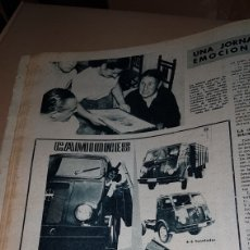 Catálogos publicitarios: PUBLICIDAD PRENSA 1959 CAMIONES BARREIROS. Lote 191194263