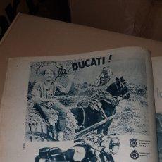 Catálogos publicitarios: PUBLICIDAD PRENSA 1962 .LA DUCATI. Lote 191197927