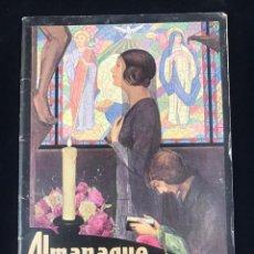 Catálogos publicitarios: ALMANAQUE BAYER PARA 1928 - MUY BUEN ESTADO. Lote 191359567