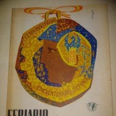 Catálogos publicitarios: VALENCIA, FERIARIO, REVISTA DE LA FERIA MUESTRARIO INTERNACIONAL 1967. Lote 191363820