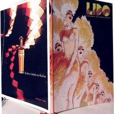 Catálogos publicitarios: LIDO. CHAMPS ÉLYSÉES. PARIS. (C 1950) FOTOS COLOR Y B/N. CUBIERTA ILUSTRADA POR GRUAU. Lote 191369282