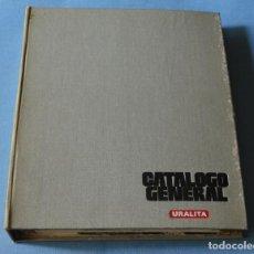 Catálogos publicitarios: URALITA - ANTIGUO CATALOGO - GENERAL - FICHERO - VER FOTOS. Lote 191485956
