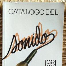 Catálogos publicitarios: CATÁLOGO DEL SONIDO 1981 DE 3M. Lote 191491923