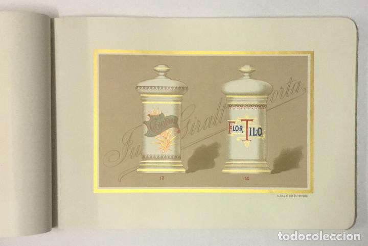 Catálogos publicitarios: BOTAMENES PARA FARMACIAS. FÁBRICA DE CRISTAL JUAN GIRALT LAPORTA. Porcelana y Cristal decorado... - Foto 3 - 191721946