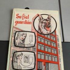 Catálogos publicitarios: FOLLETO PUBLICIDAD ( 30 X 21 CM ) PORTERO ELECTRÓNICO. 1976. Lote 192469601