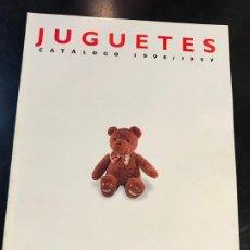 Catálogos publicitarios: CATALOGO DE JUGUETES DE EL CORTE INGLÉS - 1996/1997 - NUEVO - RARO. Lote 192648238