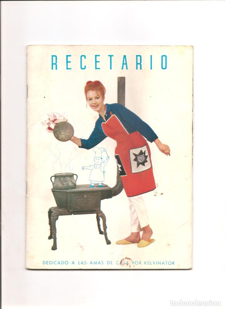 1029. RECETARIO KELVINATOR (Coleccionismo - Catálogos Publicitarios)