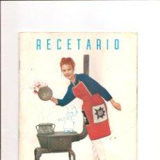 Catálogos publicitarios: 1029. RECETARIO KELVINATOR. Lote 192668185