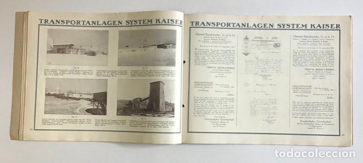 Catálogos publicitarios: TRANSPORTEURS AÉRIENS SUR CÂBLES. DRAHTSEILBAHNEN. WIRE ROPE RAILWAYS. - KAISER & CO. - Foto 5 - 123204754