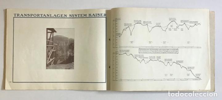 Catálogos publicitarios: TRANSPORTEURS AÉRIENS SUR CÂBLES. DRAHTSEILBAHNEN. WIRE ROPE RAILWAYS. - KAISER & CO. - Foto 6 - 123204754