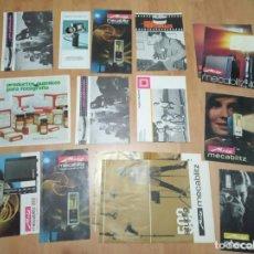 Catálogos publicitarios: LOTE DE 15 CATALOGOS METZ, NEGRA INDUSTRIAL Y MINOLTA. Lote 194214207