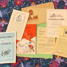 Catálogos publicitarios: SOBRE EDITORIAL JUVENTUD 1936 CON TODO EL CONTENIDO. Lote 194215540