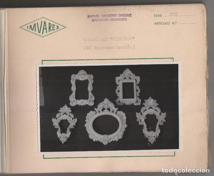 Catálogos publicitarios: IMVAREX. BONITO CATÁLOGO FOTOGRÁFICO DE CERÁMICAS VIDILER. - Foto 2 - 194236540