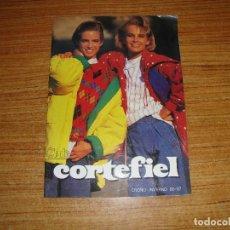 Catálogos publicitarios: CATALOGO CORTEFIEL OTOÑO INVIERNO 1986 1987. Lote 194311005