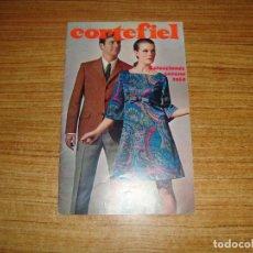 Catálogos publicitarios: CATALOGO CORTEFIEL COLECCION VERANO 1968. Lote 194311061
