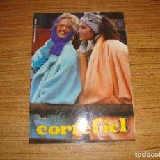 Catálogos publicitarios: CATALOGO CORTEFIEL COLECCION OTOÑO INVIERNO 1985 1986 . Lote 194311630