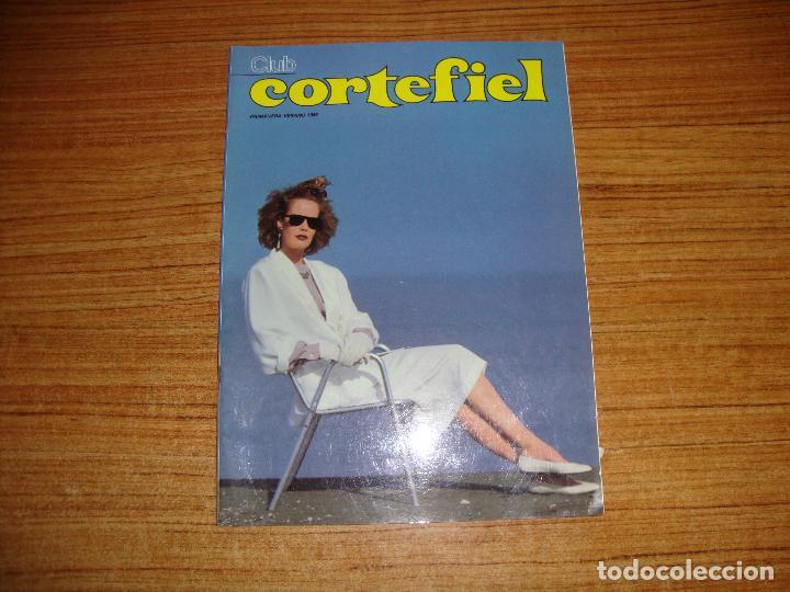 CATALOGO CORTEFIEL COLECCION PRIMAVERA VERANO 1985 (Coleccionismo - Catálogos Publicitarios)