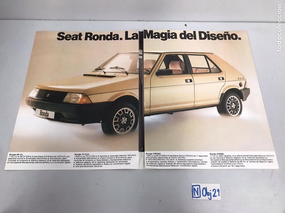 CATALOGO DE SEAT RONDA (Coleccionismo - Catálogos Publicitarios)