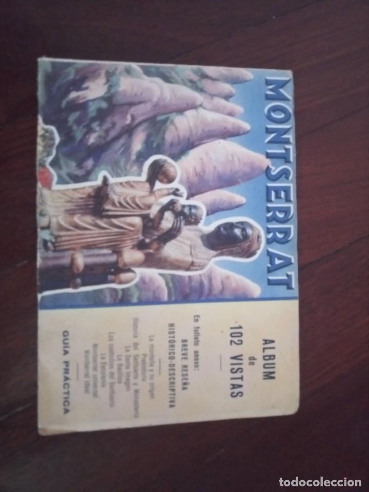 Catálogos publicitarios: Libreto álbum 102 vistas montserrat - Foto 5 - 194332698