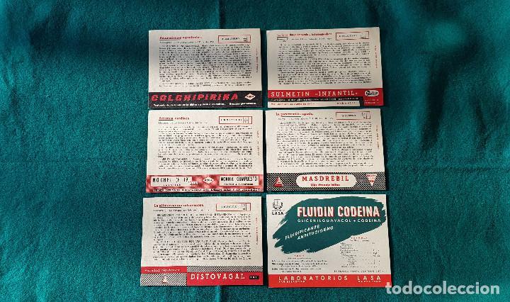 Catálogos publicitarios: LOTE DE CATALOGOS Y CARTELES DE FARMACIA - Foto 3 - 194338228