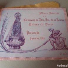 Catálogos publicitarios: PONFERRADA (LEÓN) ALBUM CORONACION DE LA VIRGEN DE LA ENCINA 1908 PATRONA DE EL BIERZO. Lote 194338740