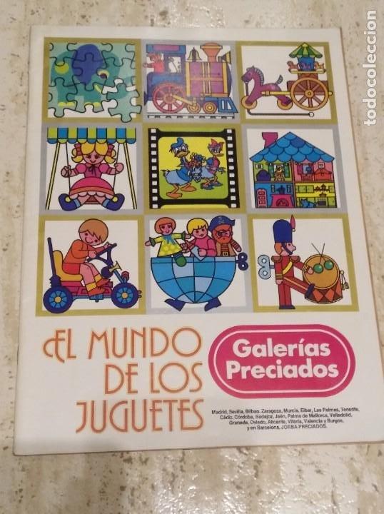 ANTIGUO CATÁLOGO DE JUGUETES AÑOS 70 (Coleccionismo - Catálogos Publicitarios)