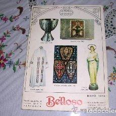 Catálogos publicitarios: CATÁLOGO LITÚRGICO BELLOSO MAYO 1973. Lote 194402215
