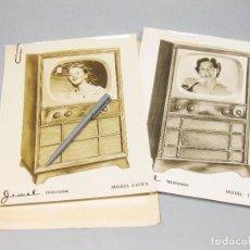 Catálogos publicitarios: CATÁLOGO DE TELEVISIÓN. JEWEL. AÑOS 50.. Lote 194620813