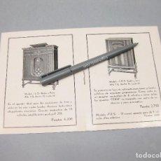 Catálogos publicitarios: CATÁLOGO DE APARATOS DE RADIO Y GRAMOLAS. FERM. BARCELONA.. Lote 194621516