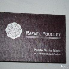 Catálogos publicitarios: CALENDARIO PARA 1926 , RAFAEL POULLET . Lote 194626895