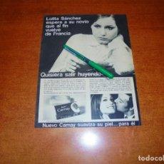 Catálogos publicitarios: PUBLICIDAD 1969: JABÓN CAMAY. Lote 194646453