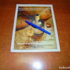 Catálogos publicitarios: PUBLICIDAD 1969: DRAMBUIE. Lote 194646506