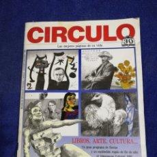 Catálogos publicitarios: CATALOGO REVISTA CIRCULO LECTORES NOVIEMBRE DICIEMBRE DE 1992. Lote 194659585