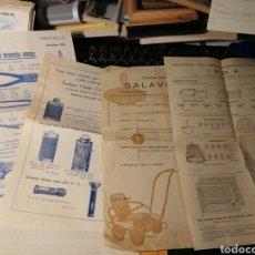 Catálogos publicitarios: PUBLICIDAD DE DISTINTAS CASA. HERRAMIENTAS. LINTERNAS. ETC.. Lote 194714232