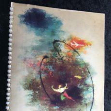 Catálogos publicitarios: LAS ALAS DEL HOMBRE - SCANDINAVIAN AIRLINES - 1959 - ILUSTRACIONES COLOR DE OTTO NIELSEN - . Lote 194726062