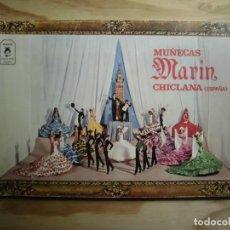 Catálogos publicitarios: CATÁLOGO MUÑECAS MARÍN CHICLANA. Lote 194754218